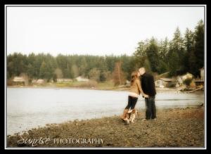 Engagement Photographer Gig Harbor Bremerton Sunrise Photography