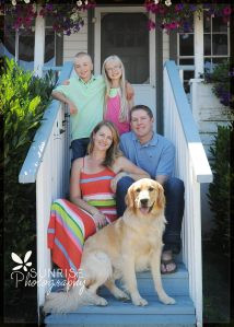 family photographer in gig harbor sunrise photography