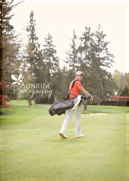 Sunrise Photography Gig Harbor Photographer Lakewood Tacoma Golf Country Club Senior Graduate Sports Scholarship Ping Nike (4)