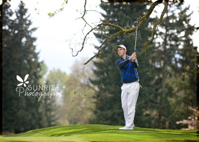 Sunrise Photography Gig Harbor Photographer Lakewood Tacoma Golf Country Club Senior Graduate Sports Scholarship Ping Nike (4b)